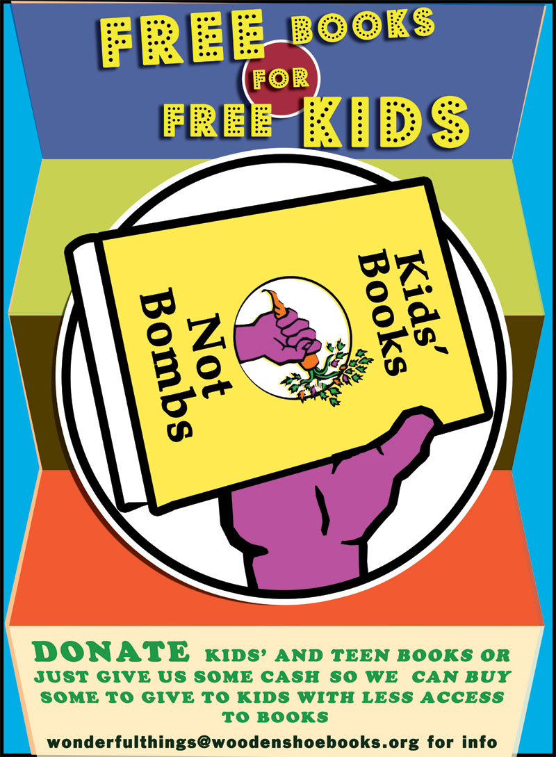 Donate to Kids' Books Not Bombs!
